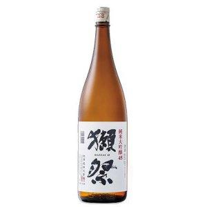 画像1: 獺祭 磨き45 純米大吟醸 1800ml