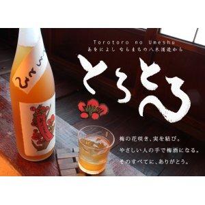 画像1: とろとろの梅酒 1800ml